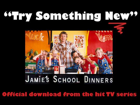 Product picture Try Something New -  Jamie´s School Dinners (Jamie Oliver)