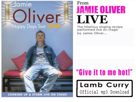 Product picture Jamie Oliver - Lamb Curry Song